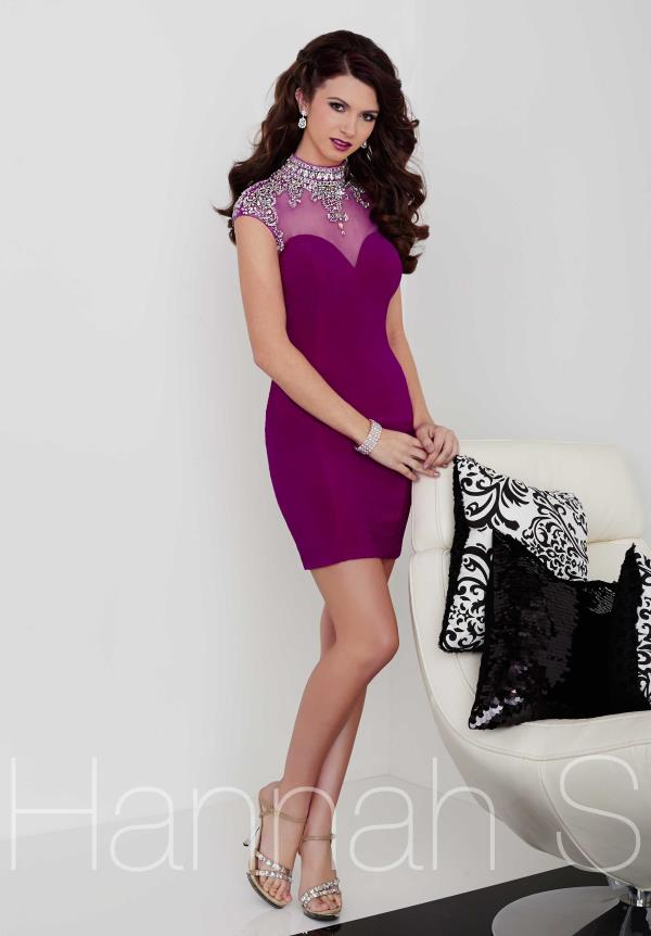 Hannah S Elegant Short Dress 27050