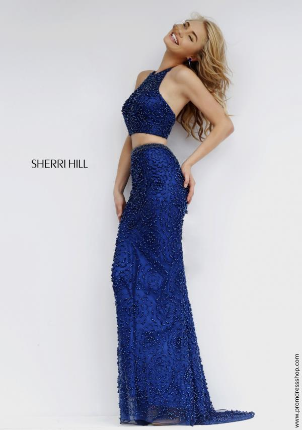 Two Piece Sequins Sherri Hill Dress 32302