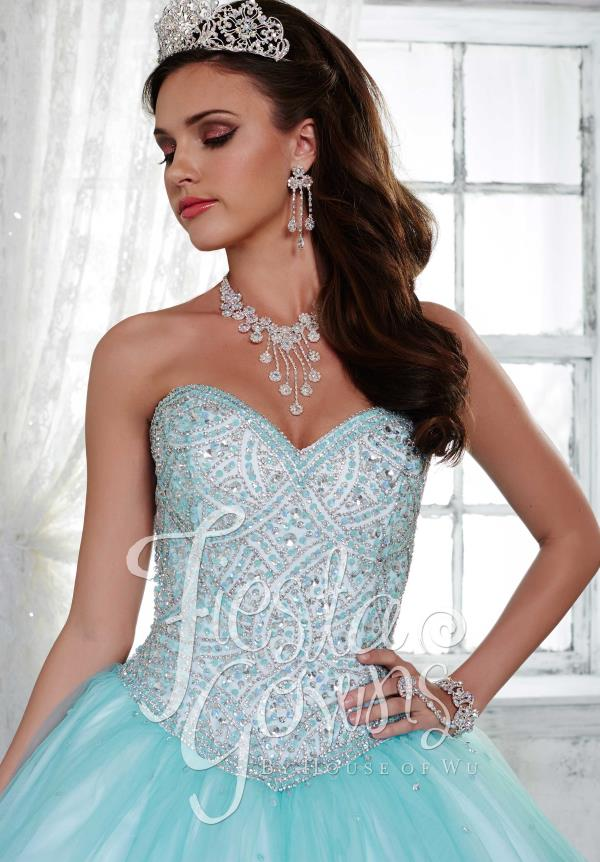 Stunning Beaded Tiffany Fiesta Dress 56284