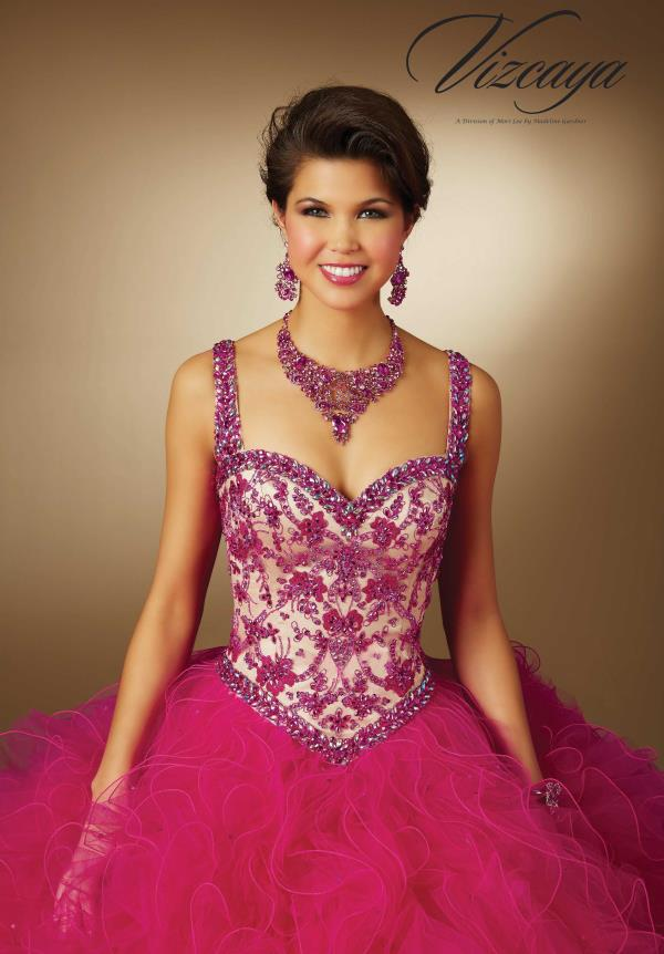 Stunning Vizcaya Quinceanera Ball Gown 89058