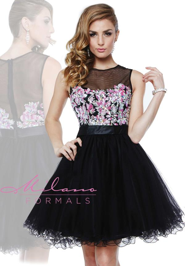 Milano Formals 8th Grade Dance A Line Dress E1841