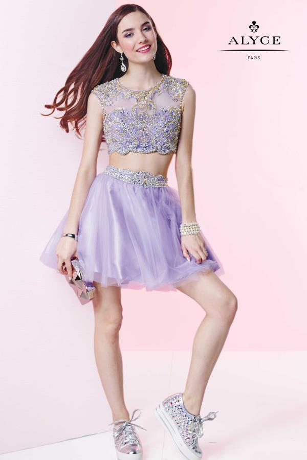 Alyce Short Tulle Party Dress 4435