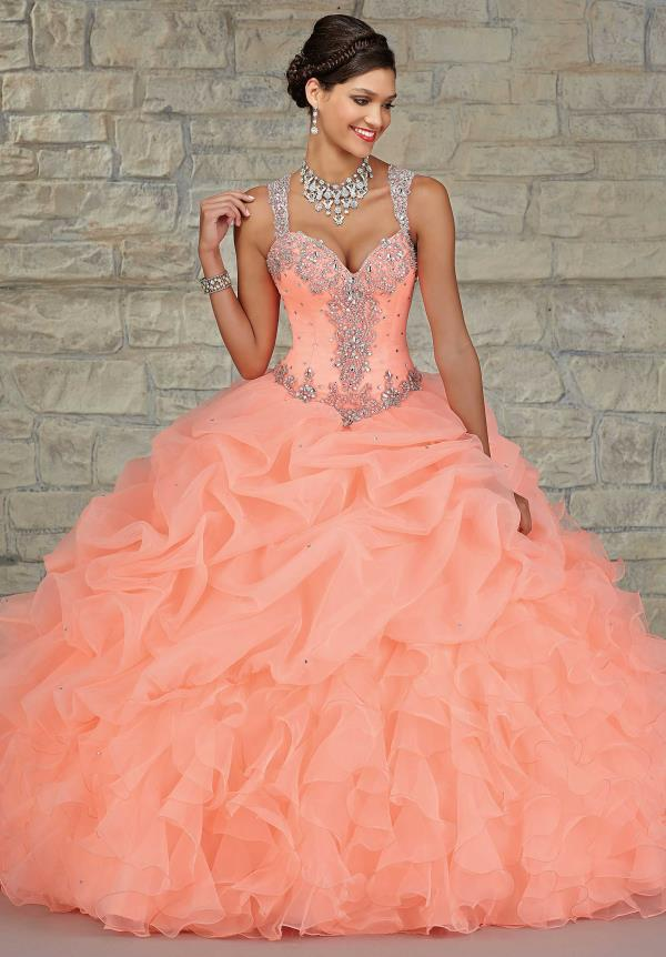 Vizcaya Beaded Quinceanera Dress 89023
