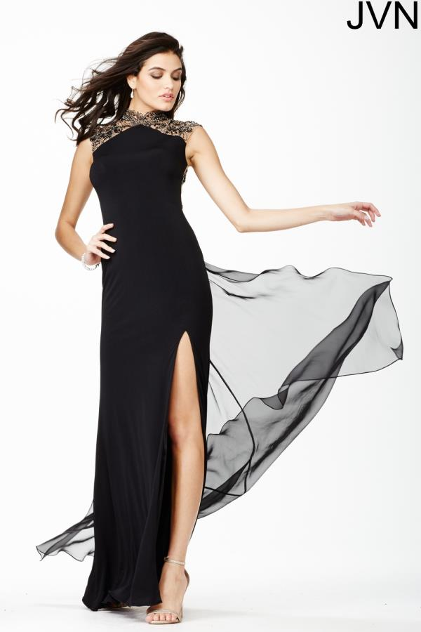 JVN by Jovani Long Fitted Dress JVN27497
