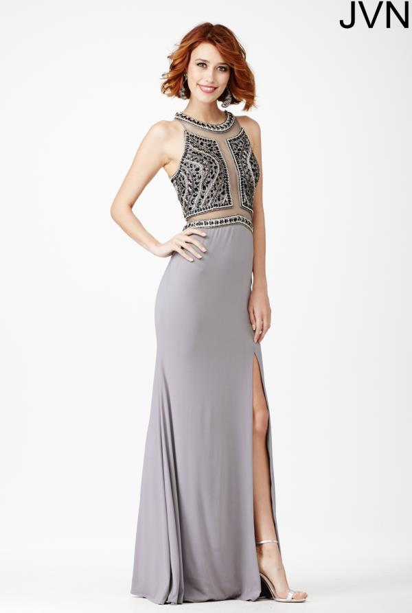 JVN by Jovani High Neckline Long Dress JVN29121