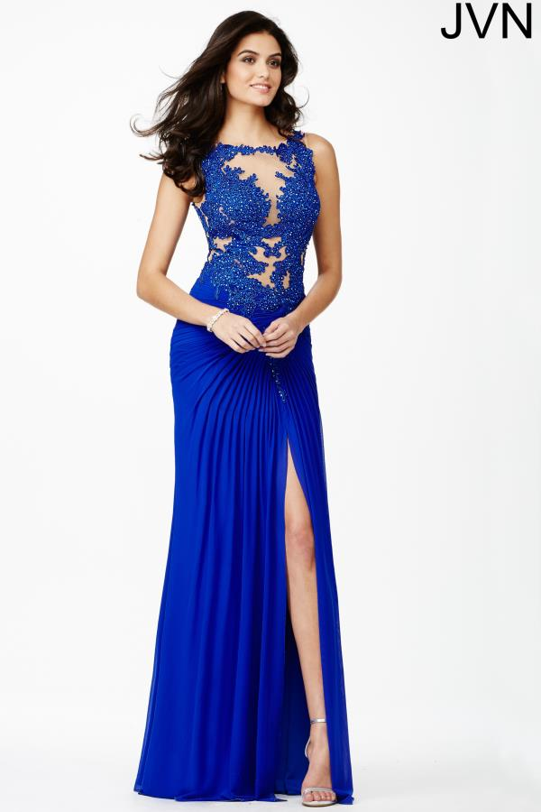 JVN by Jovani Lace Fitted Dress JVN32210