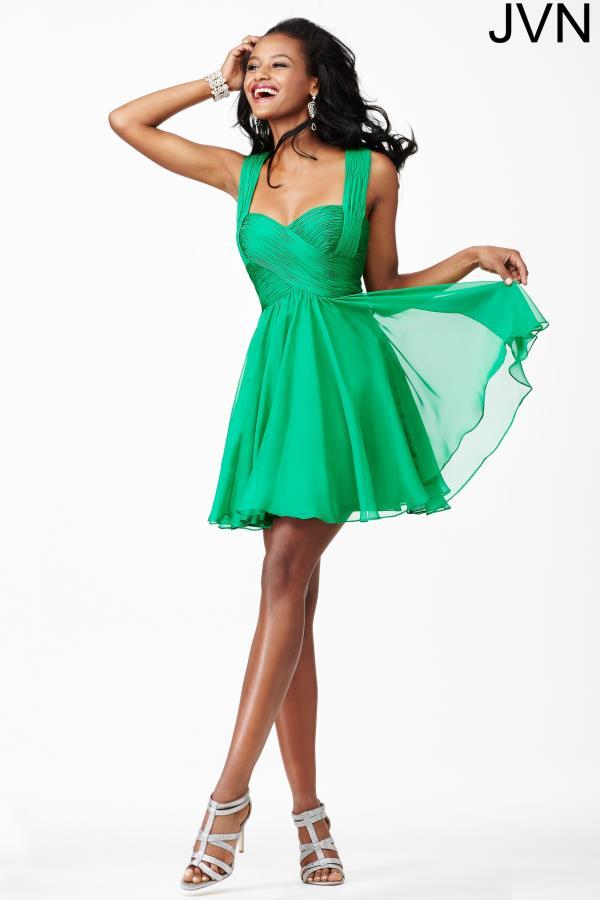 Jvn By Jovani Short A Line Dress Jvn94200