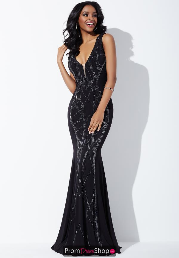 Jovani Fitted Silhouette Dress 24980