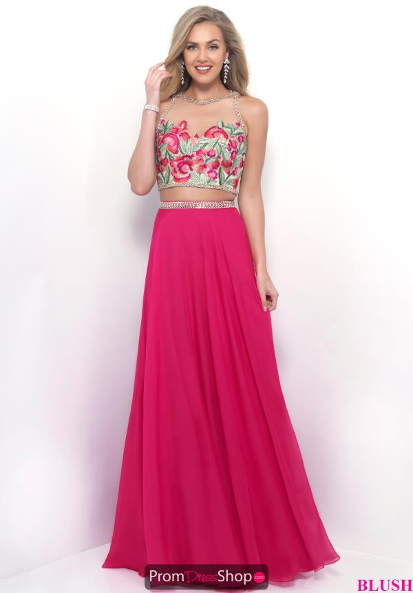 Blush Two Piece A Line Dress 11310