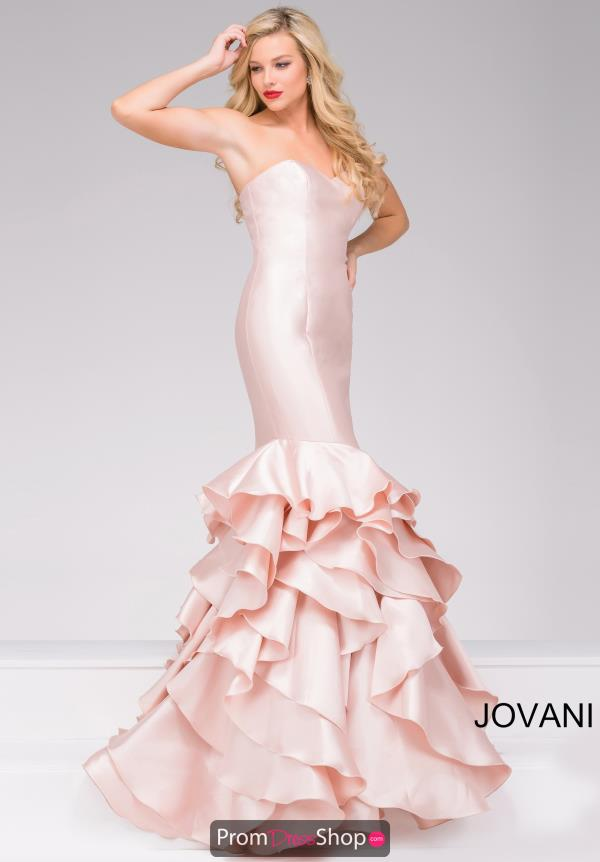 Jovani Long Fitted Dress 41622