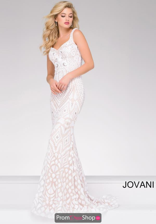 Jovani Sweetheart Neckline Fitted Dress 47963