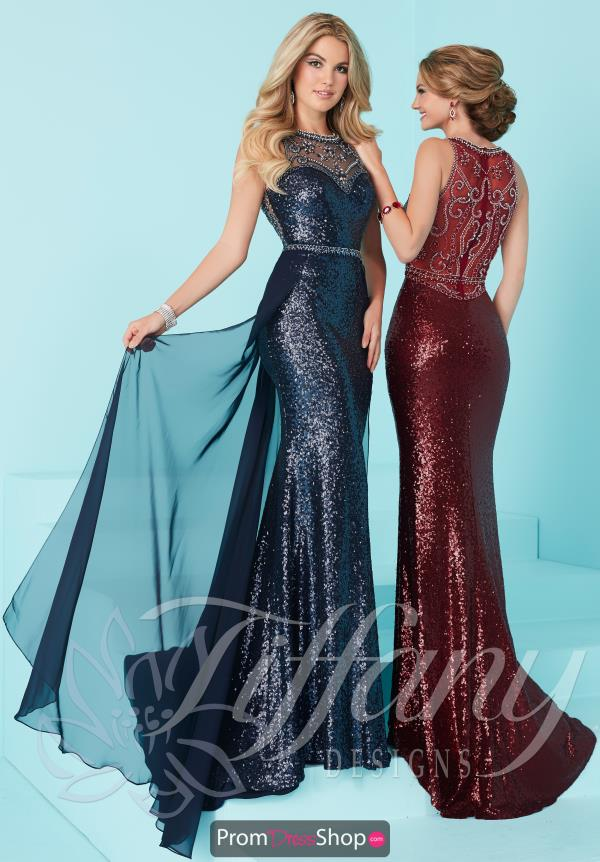 Long Fitted Tiffany Dress 16220