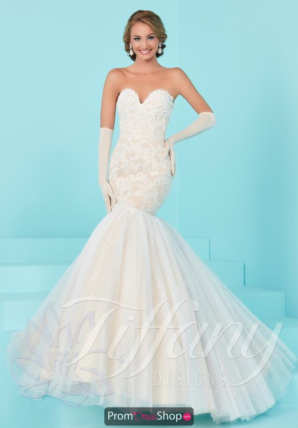 Strapless Mermaid Tiffany Dress 16203