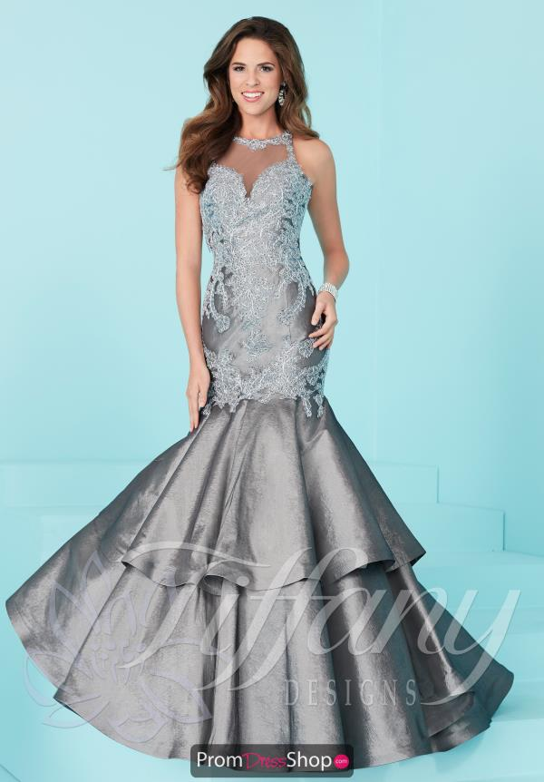 Tiffany Long Fitted Dress 16211