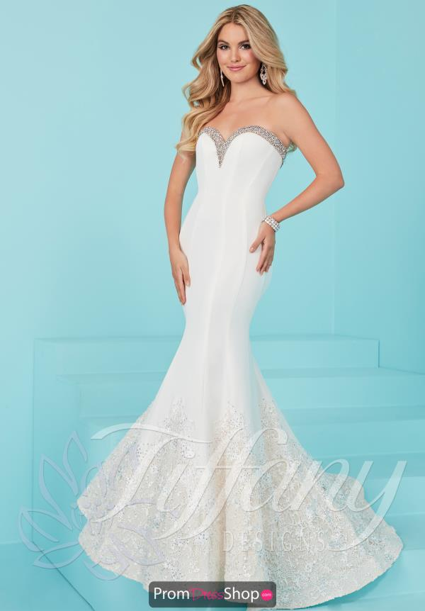 Tiffany Sweetheart Neckline Mermaid Dress 16214