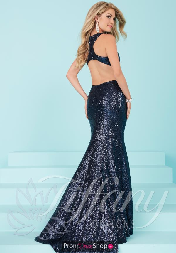 Tiffany Sexy Open Back Dress 16226