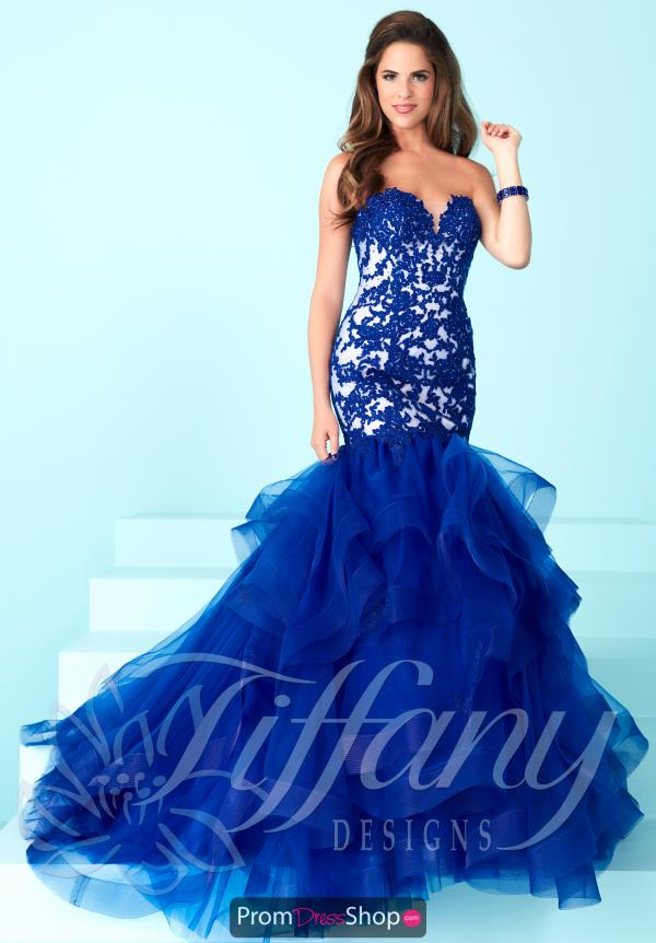 Strapless Mermaid Tiffany Dress 16248