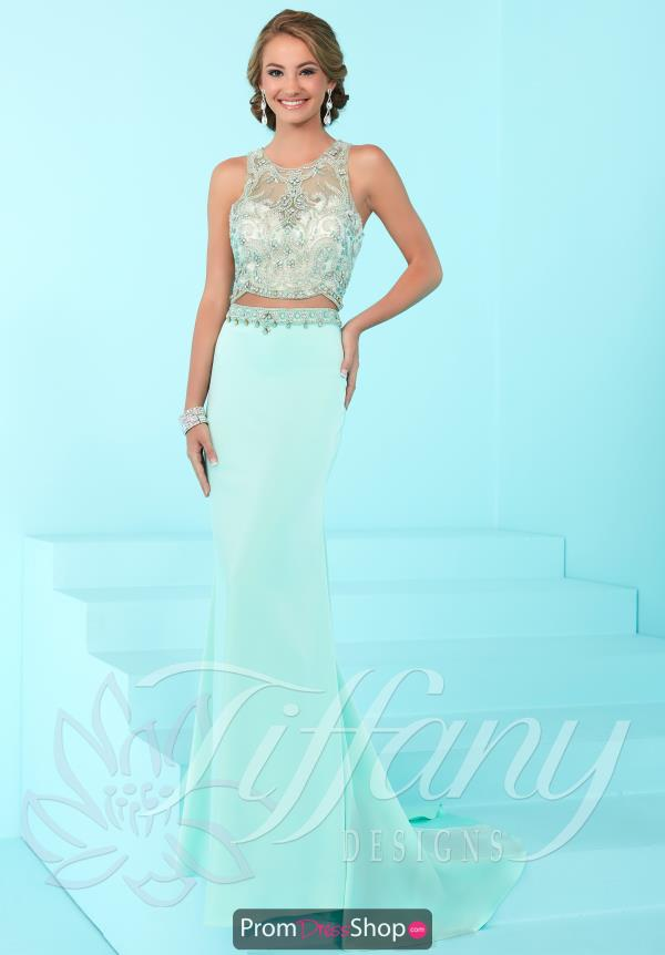Tiffany Long Jersey Dress 16254
