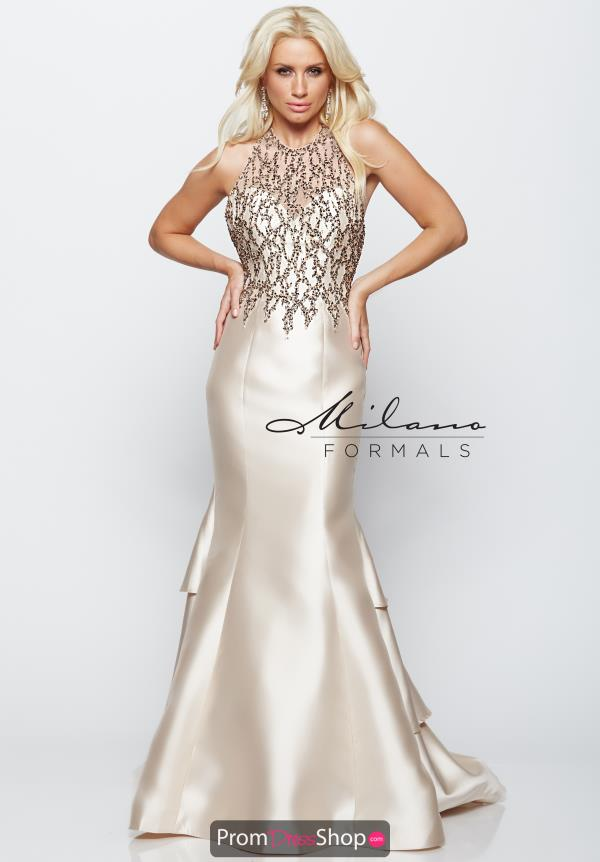 Milano Formals Fitted Mermaid Dress E2090