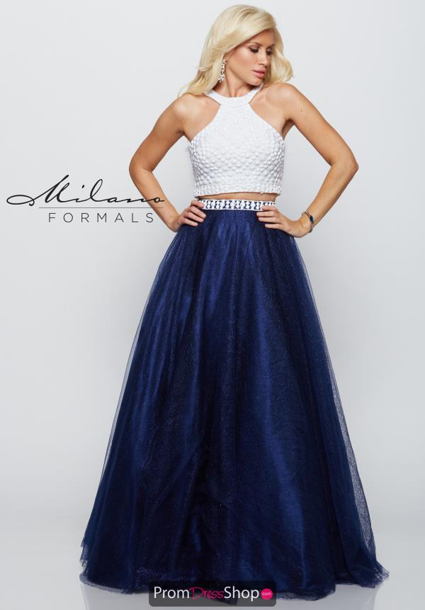 Milano Formals Prom Dresses E2095 at Prom Dress Shop