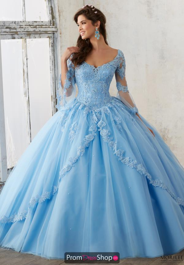 Tulle Skirt Sweet 16 Ball Gown Valencia 60015