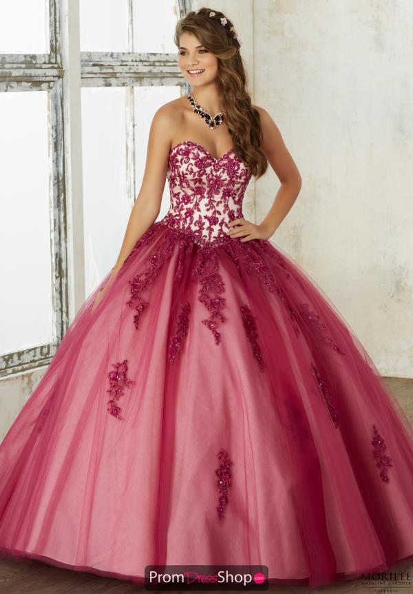 Sweetheart Neckline Ball Gown Valencia 60016
