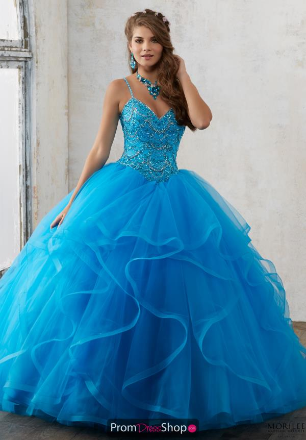 Valencia Beaded Ball Gown 60017