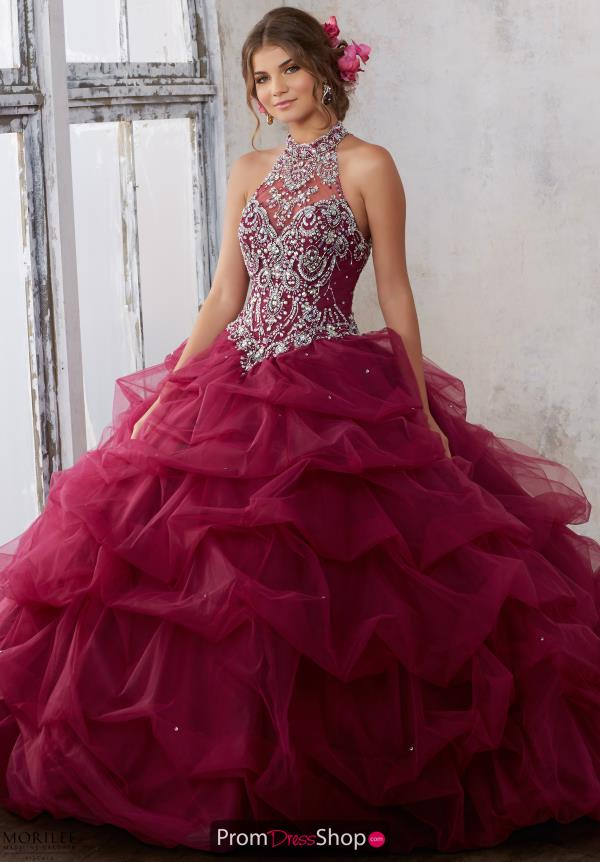 Vizcaya Beaded Ball Gown 89122