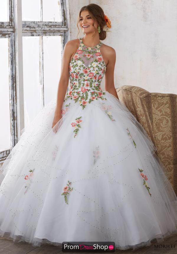 Vizcaya Beaded Ball Gown 89124
