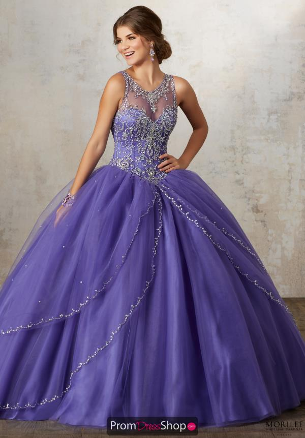 Vizcaya Long Beaded Dress 89127