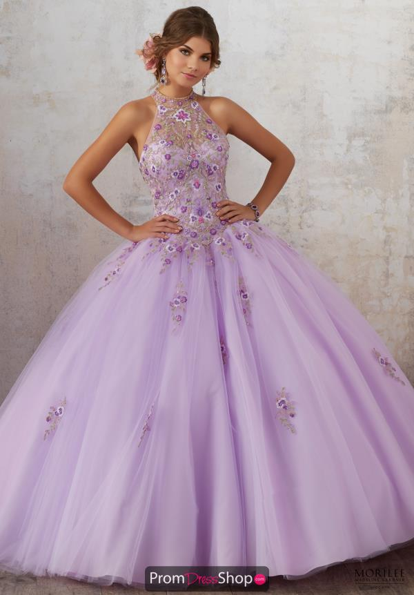 Vizcaya Tulle Skirt Ball Gown 89134