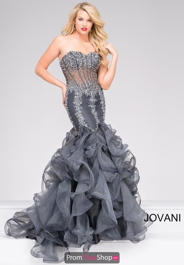 Jovani Long Sweetheart Dress 42883