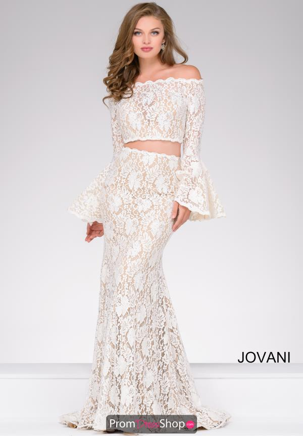 Jovani Fitted Beaded Dress 45894