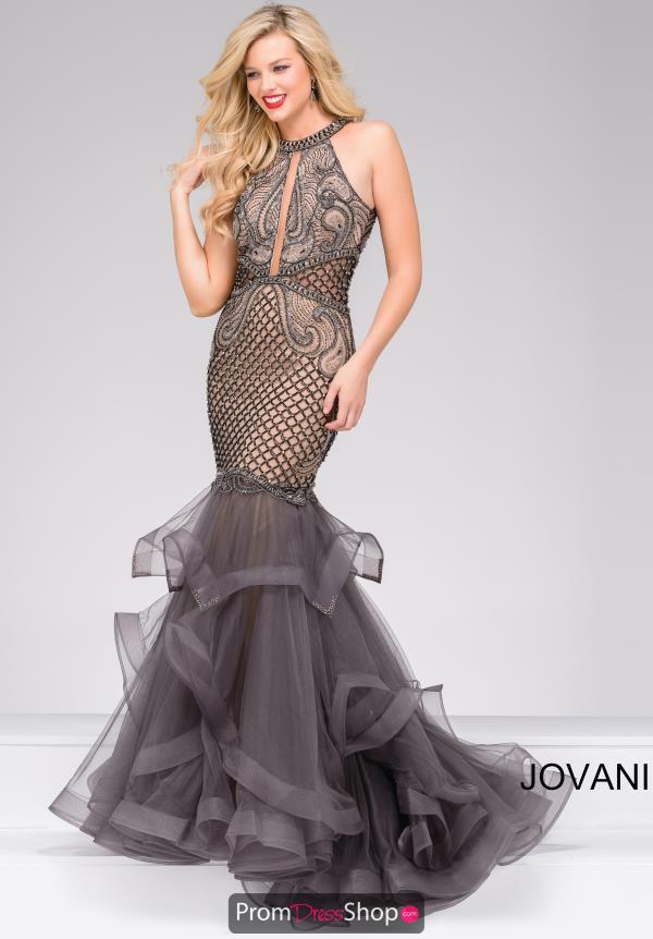 Jovani Long Tulle Dress 45995