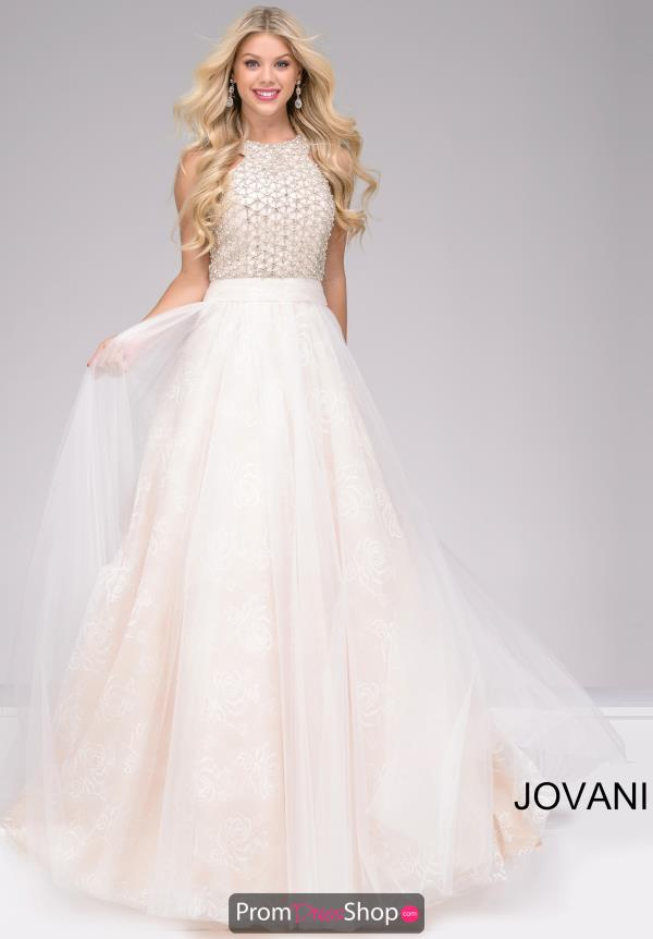 Jovani Long Lace Dress 47300
