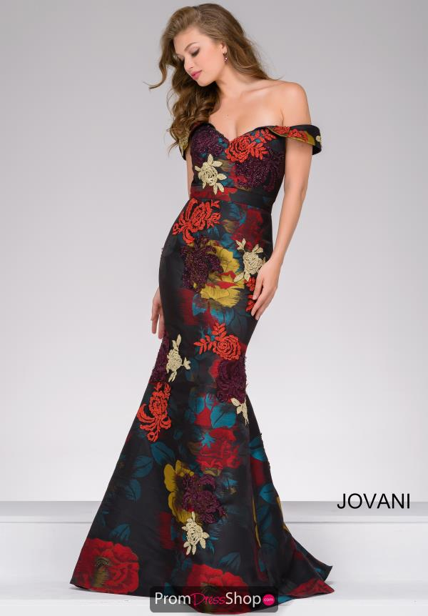 Jovani Long Sweetheart Dress 47698