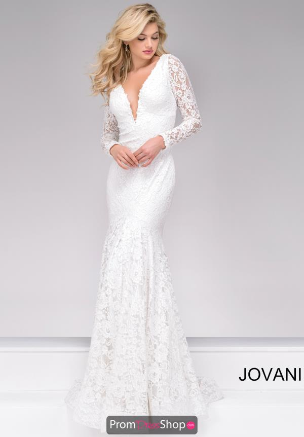 Jovani Lace Fitted Dress 50026