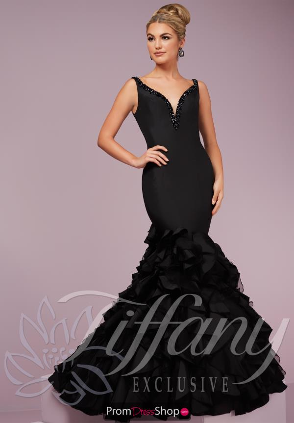 Long Fitted Tiffany Dress 46093