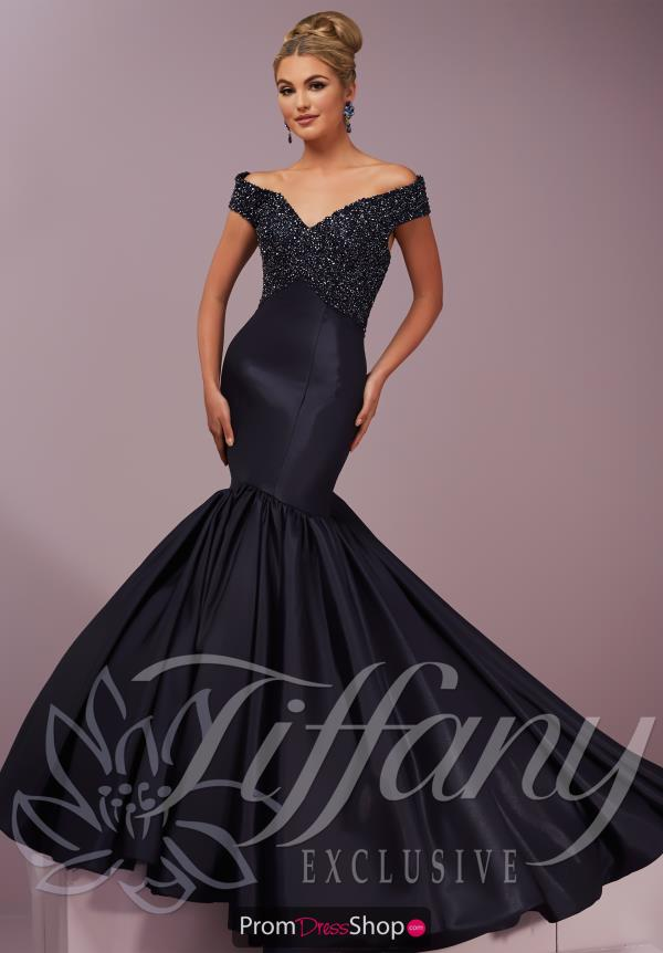 Tiffany Fitted Long Dress 46108
