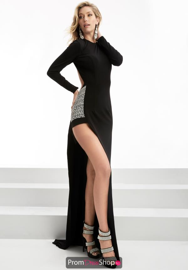 Jersey Long Jasz Couture Dress 5901