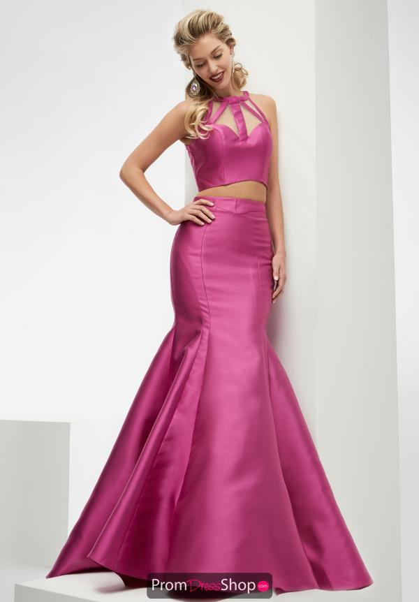 Long Taffeta Jasz Couture Dress 5907