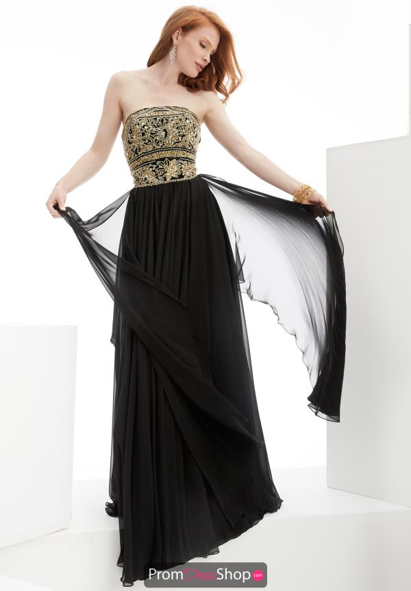Strapless Long Jasz Couture Dress 5915