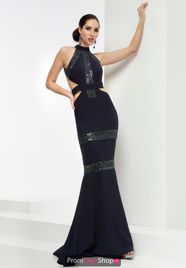 Fitted Long Jasz Couture Dress 5929