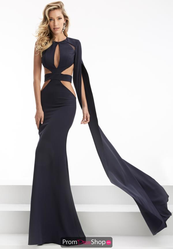 Long Fitted Jasz Couture Dress 5951