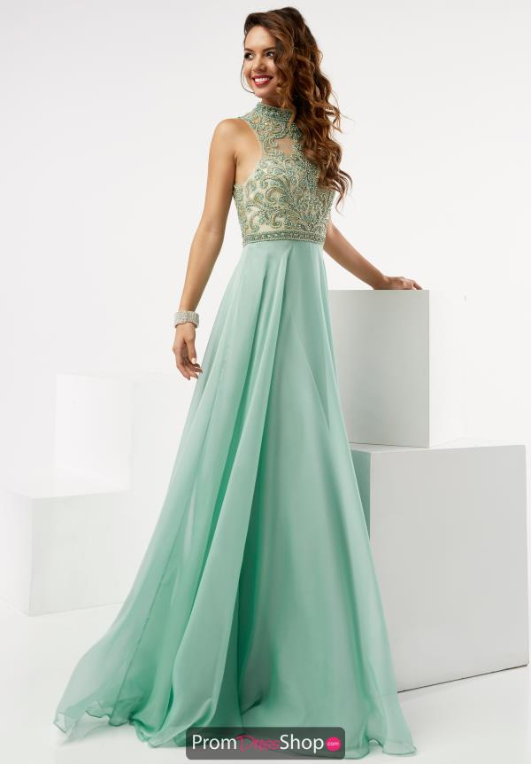 A Line Chiffon Jasz Couture Dress 5979