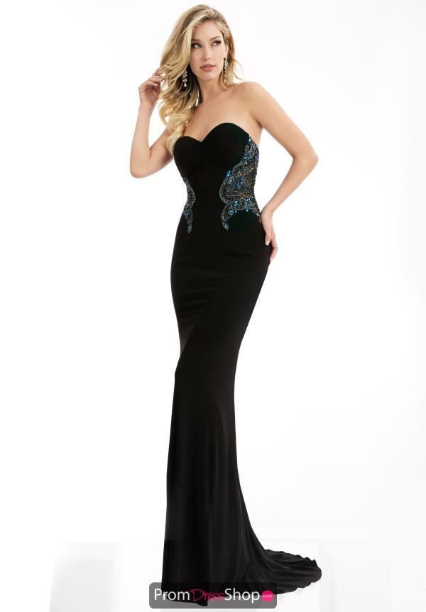Strapless Fitted Jasz Couture Dress 5982