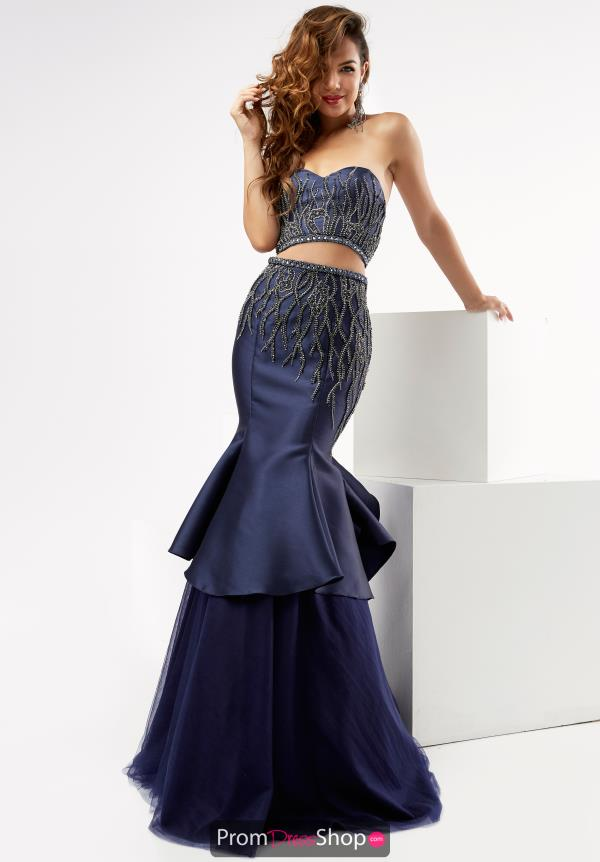 Strapless Fitted Jasz Couture Dress 5984