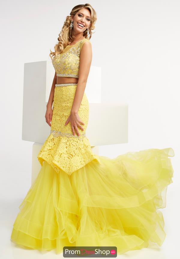 Two Piece Mermaid Jasz Couture Dress 5991