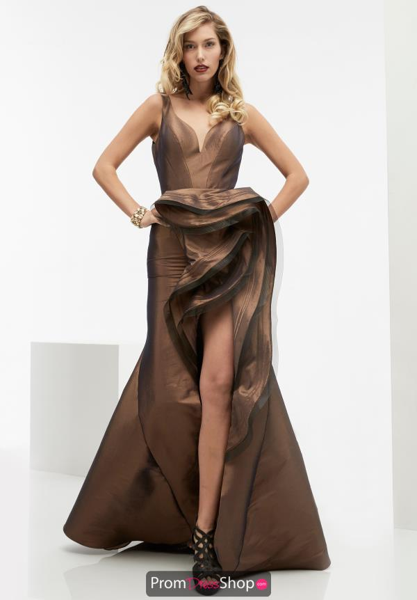 Long Taffeta Jasz Couture Dress 5993
