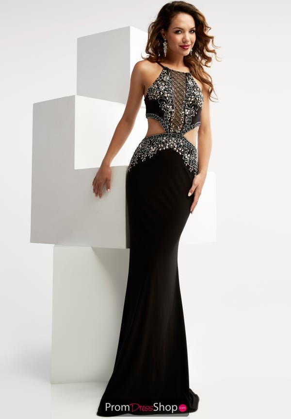 Jasz Couture Fitted Long Dress 6021